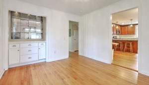 1222 Byron Road dining room