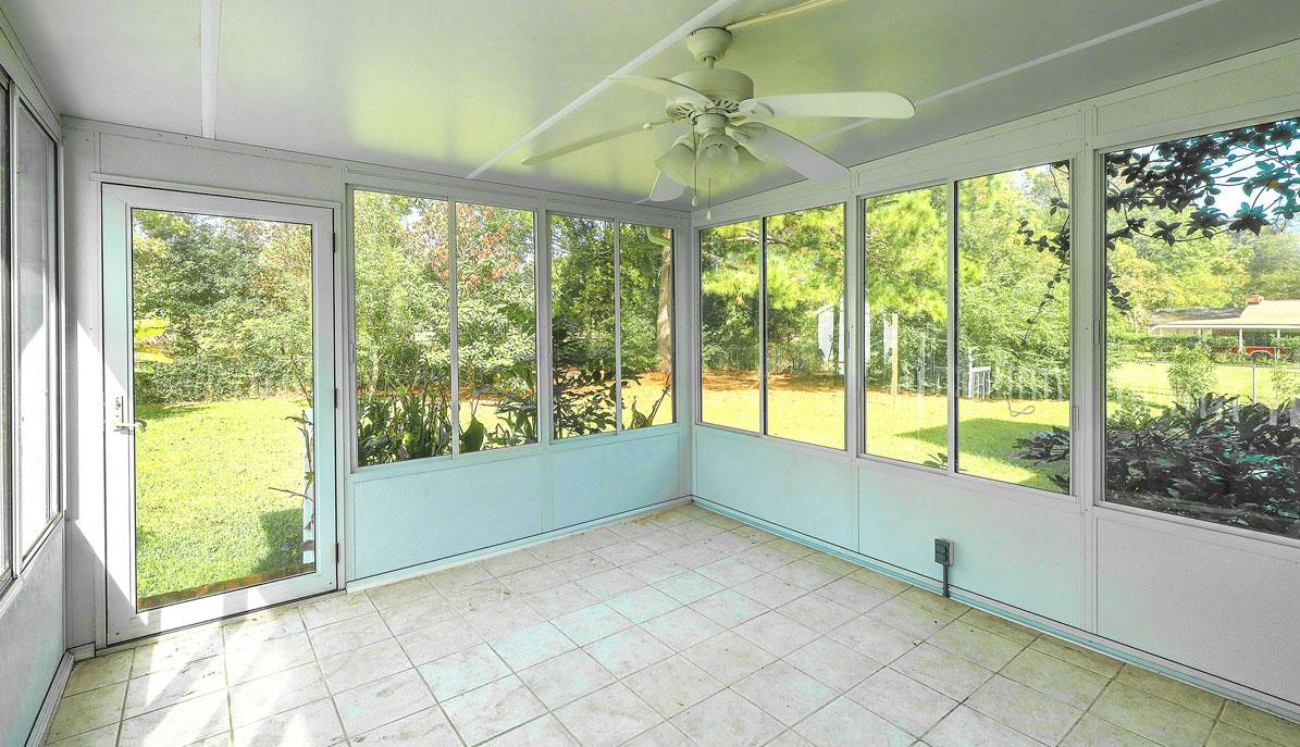 1222 Byron Road sunroom