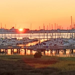 sailboats outdoors - fall in Charleston