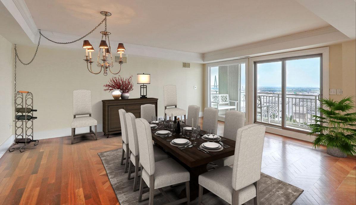330 Concord Street 18E, Dockside dining room