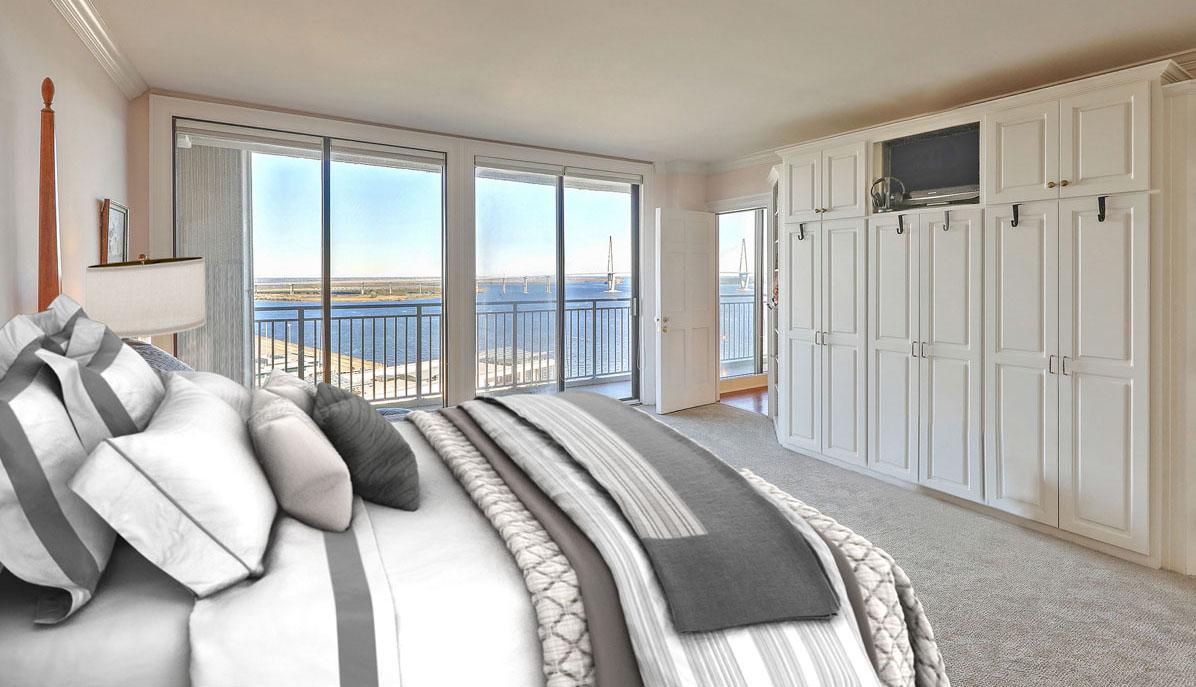 330 Concord Street 18E, Dockside master bedroom