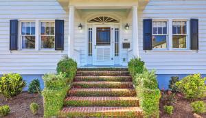 21 Colonial Street front door