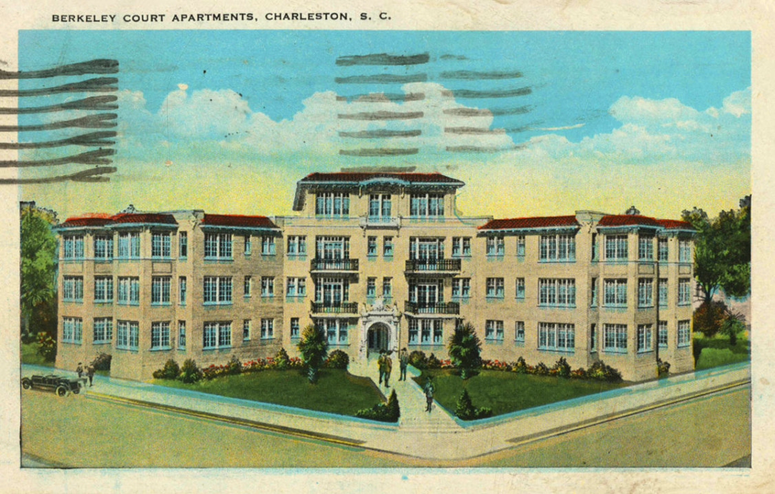 Berkeley Court postcard