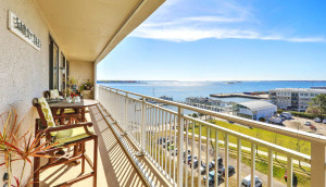 330 Concord Street 9B harbor view, balcony 1