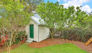 45 Ashe Street shed & yard