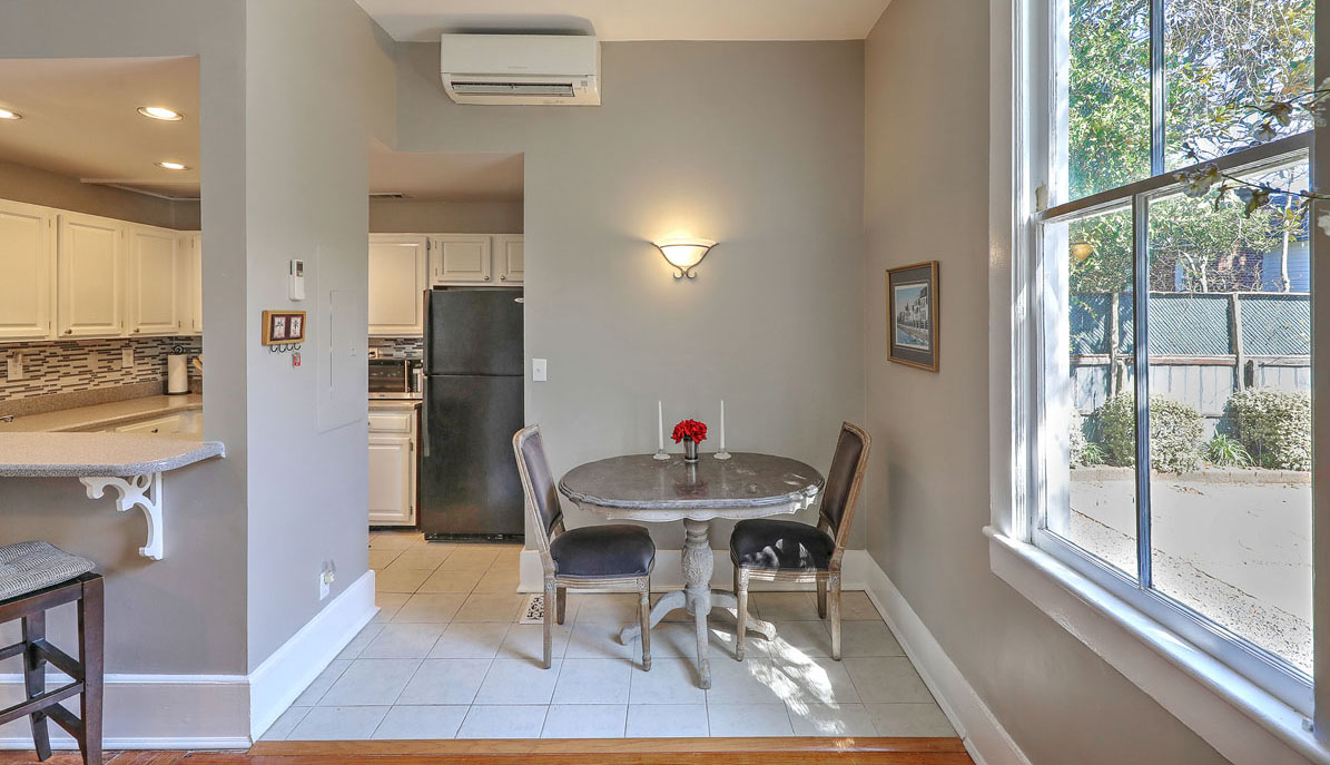 52 South Battery G dining nook