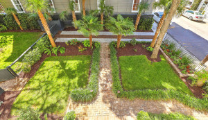 18 Limehouse Street garden from above
