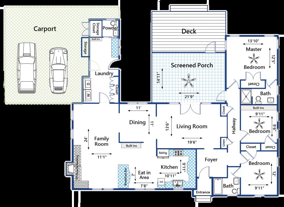 122 Chadwick Drive floorplan