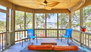 1310 Martins Point Road screened porch
