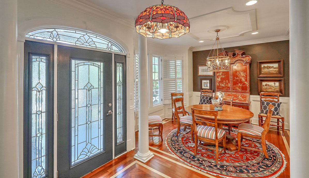 1312 Middle Street entry & dining room
