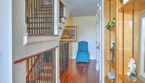 1312 Middle Street stair landing
