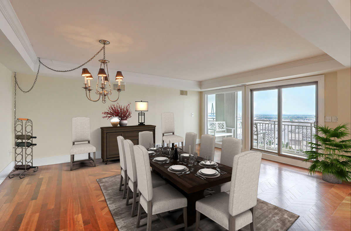 Virtual Staging PH Dining Room