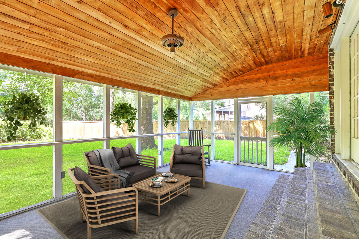 Virtual Staging Porch