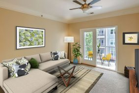 1755 Central Park Road 5307, Regatta on James Island living room