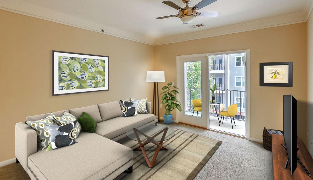 1755 Central Park Road 5307, Regatta on James Island living room