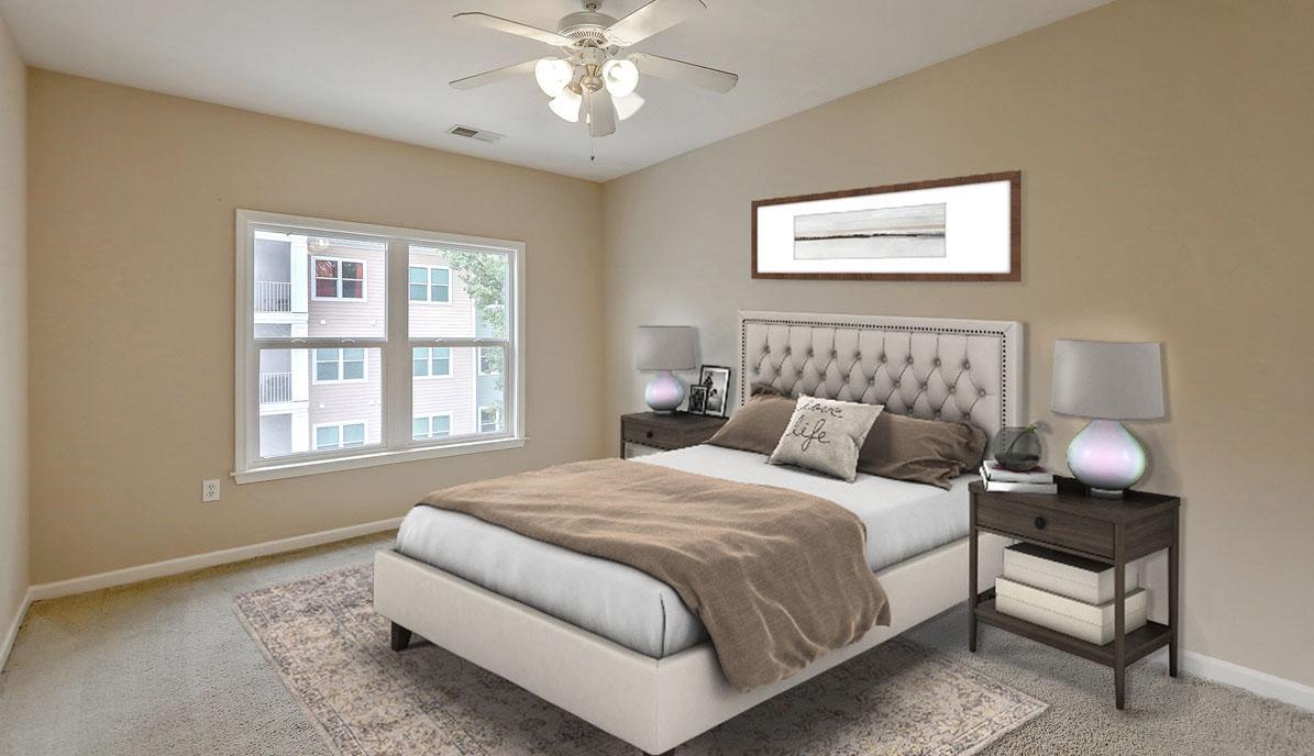 1755 Central Park Road 5307 master bedroom