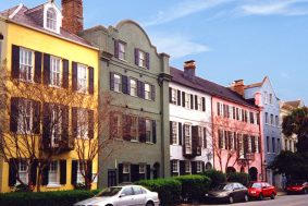 Rainbow Row, Charleston