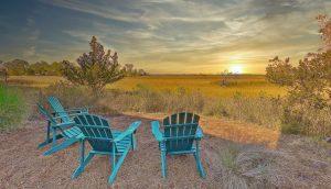 104 Marsh Elder Court, Kiawah Island view at sunset