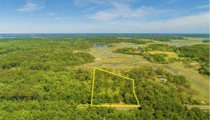 2514 Laurel Hill Road, marsh front lot for sale on Edisto Island