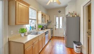 14 Montagu Street A kitchen