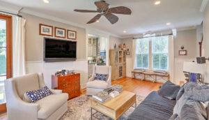 14 1/2 Montagu Street living room