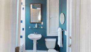 19 Pinckney Street, Palmer's Pinckney Inn Bed & Breakfast Bombay Room bath