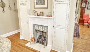 1 1/2 Gibbes Street fireplace