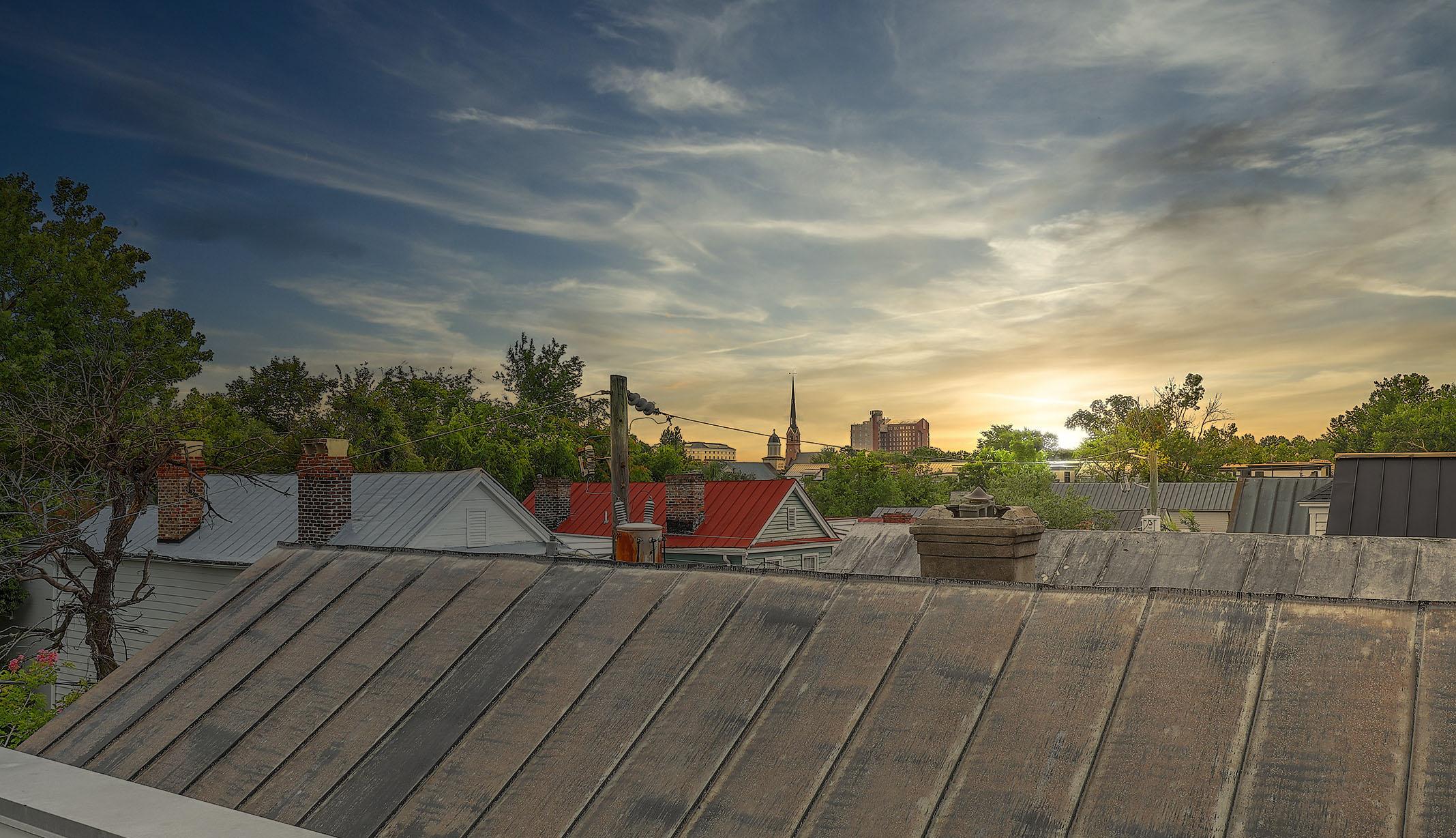 23 Felix Street rooftop view sunset