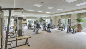 The Bristol fitness center