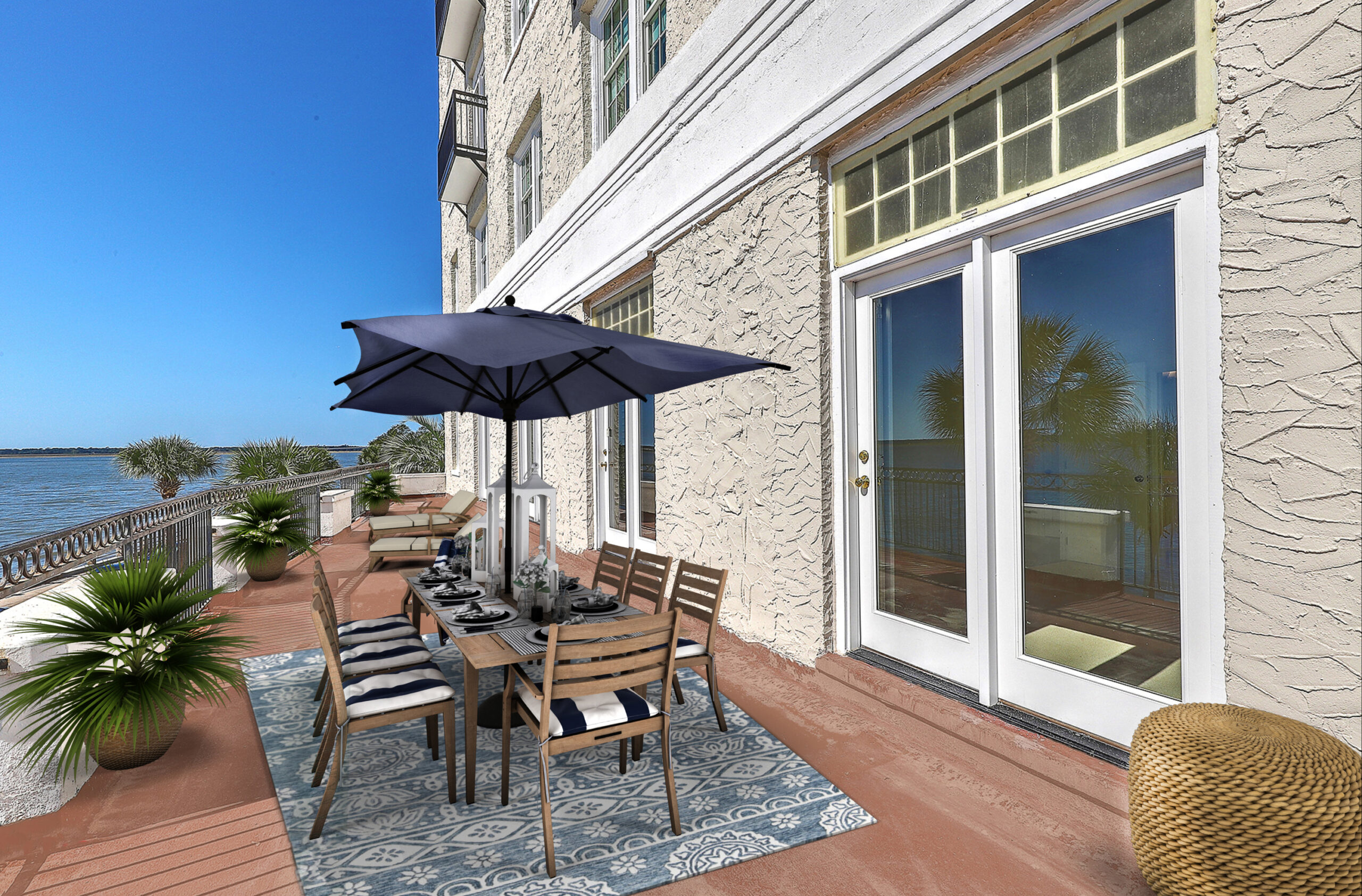 Virtual Staging Patio AFTER