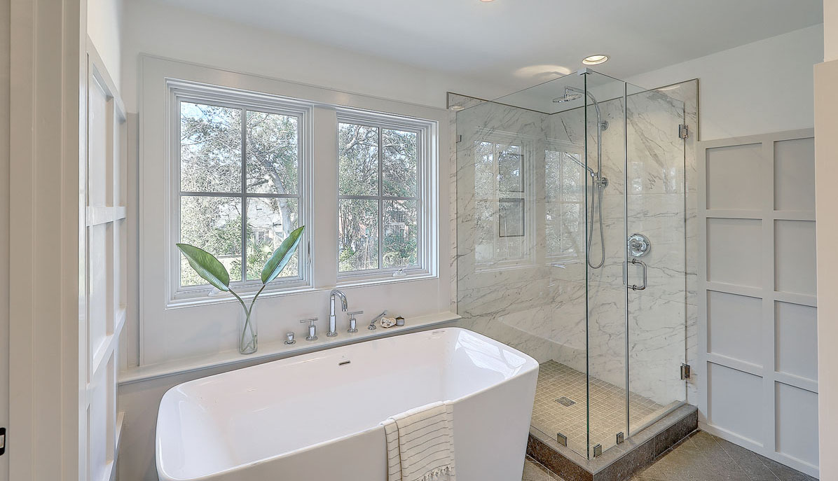 10 Yeamans Road master bath shower