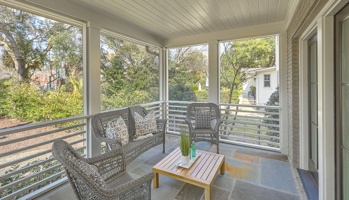 10 Yeamans Road screened porch