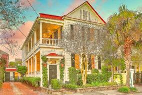 102 Queen Street exterior twilight
