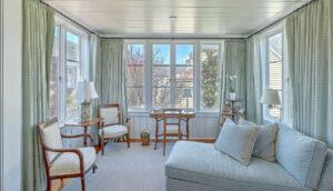 102 Queen Street master sunroom