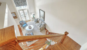 67 Legare Street 403, Crafts House stairs