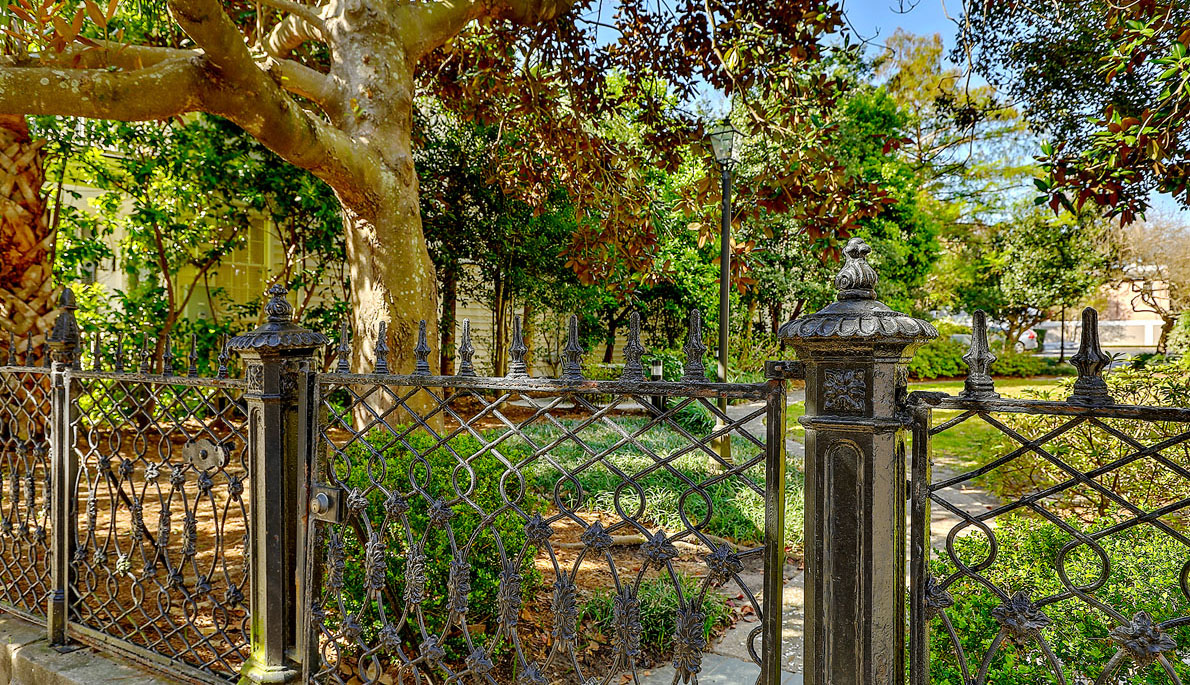 Crafts House gate