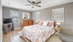 8 Perry Street master bedroom