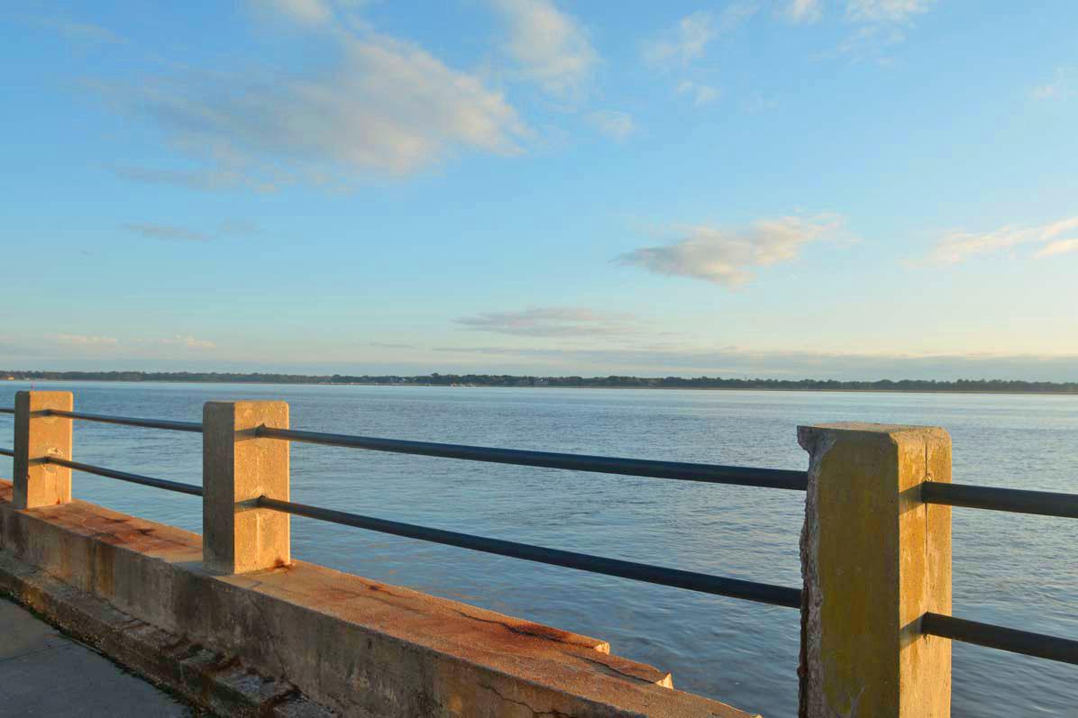 Charleston Harbor view