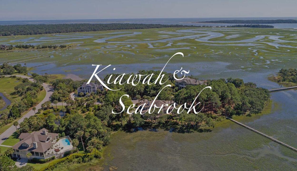 Seabrook Island aerial, Charleston, SC
