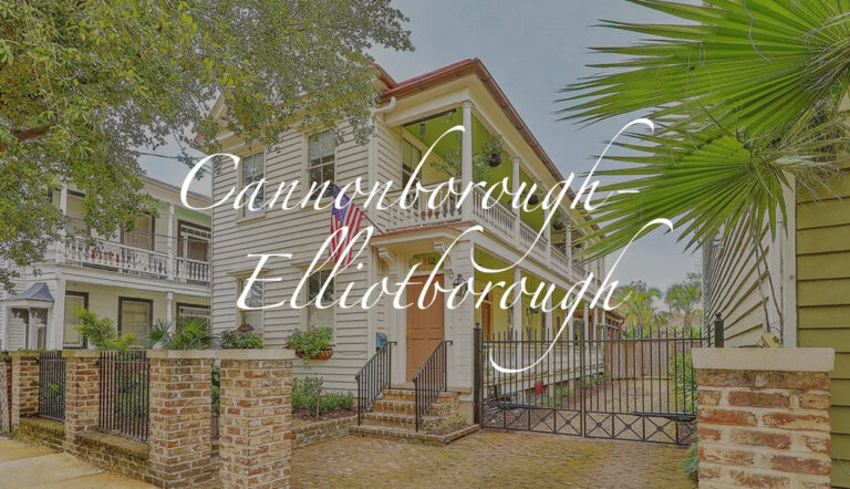 Cannonborough-Elliotborough, downtown Charleston, SC