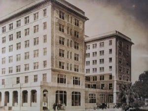 Fort Sumter Hotel 1924 postcard