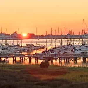 sailboats outdoors - fall in Charleston