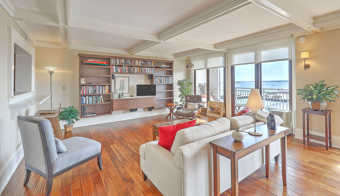 330 Concord Street 9A, Dockside living room
