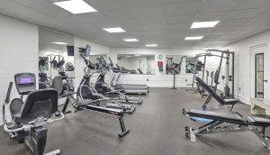 Dockside Condos gym