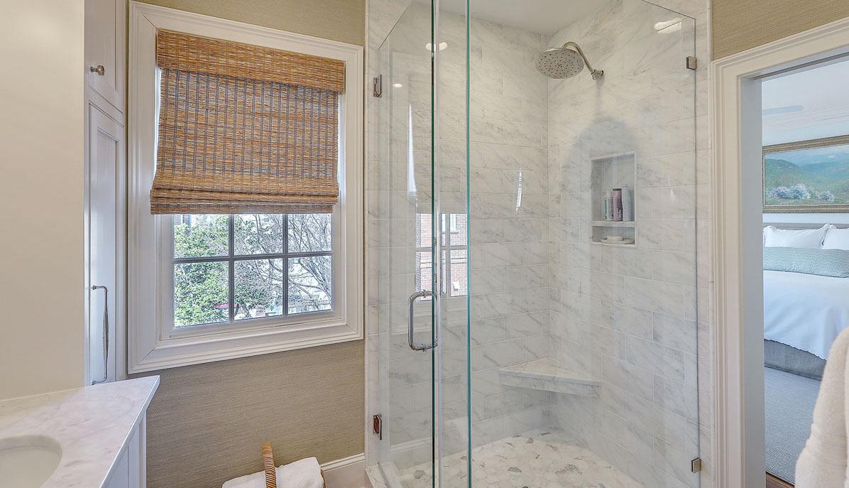 102 Queen Street master bath shower