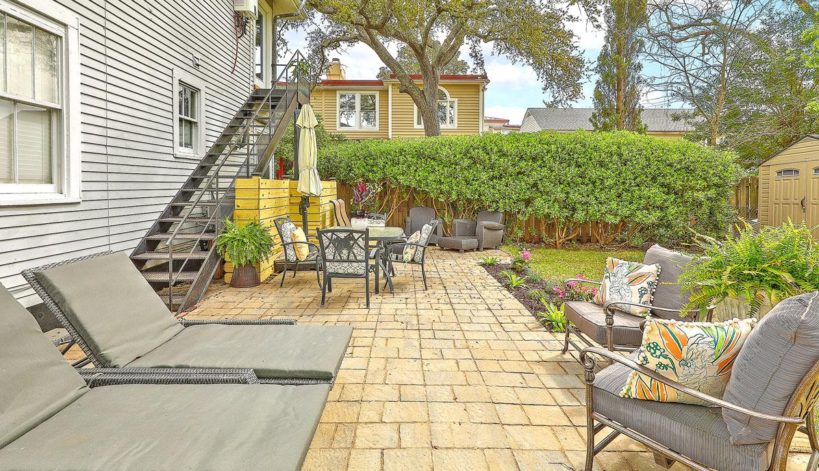 169A Tradd Street patio