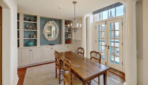 67 Legare Street 403, Crafts House dining room