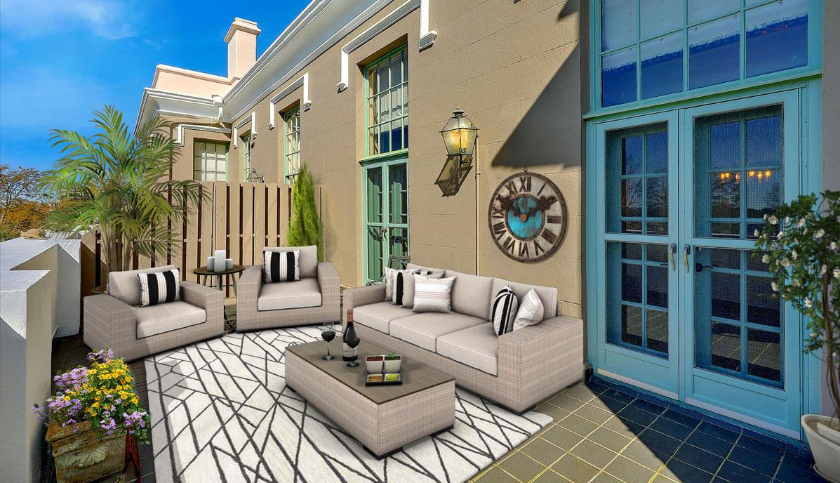 67 Legare Street 403, Crafts House terrace