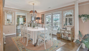 307 Confederate Circle dining room
