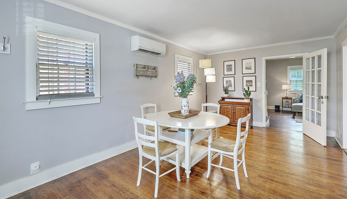 8 Perry Street dining room